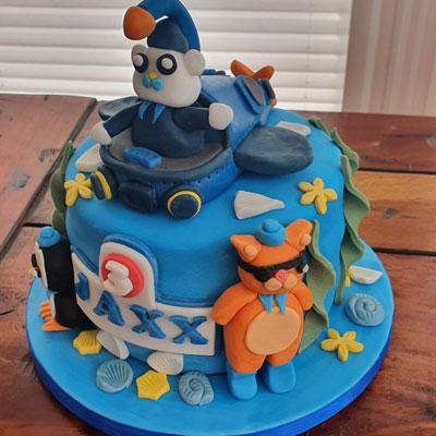 Octonauts Birthday Cake by Amanda Ward of Dereham