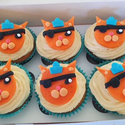 Octonauts Cupcakes by Sweet Green Icing