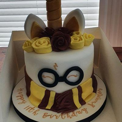 Harry Potter - Unicorn Birthday Cake